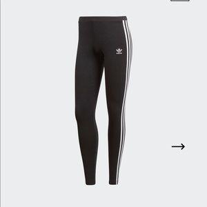 NWT Adidas 3-Stripes Leggings